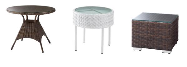 サンマールテーブル・アドリアステーブル・ロードスサイドテーブル